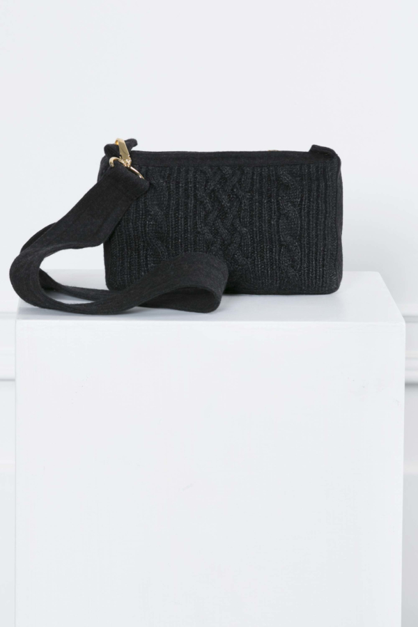 Cable-knit Bag