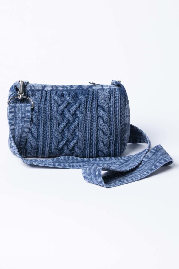 Câble-knit Bag