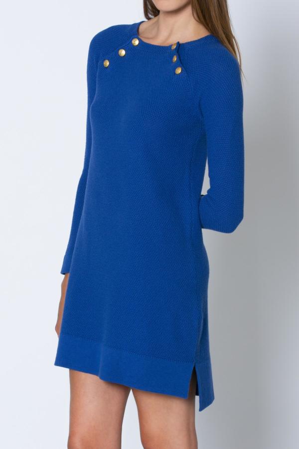 Vestido Algodón-Cachemira