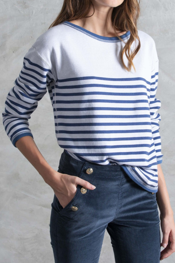 Reversible Striped T-shirt