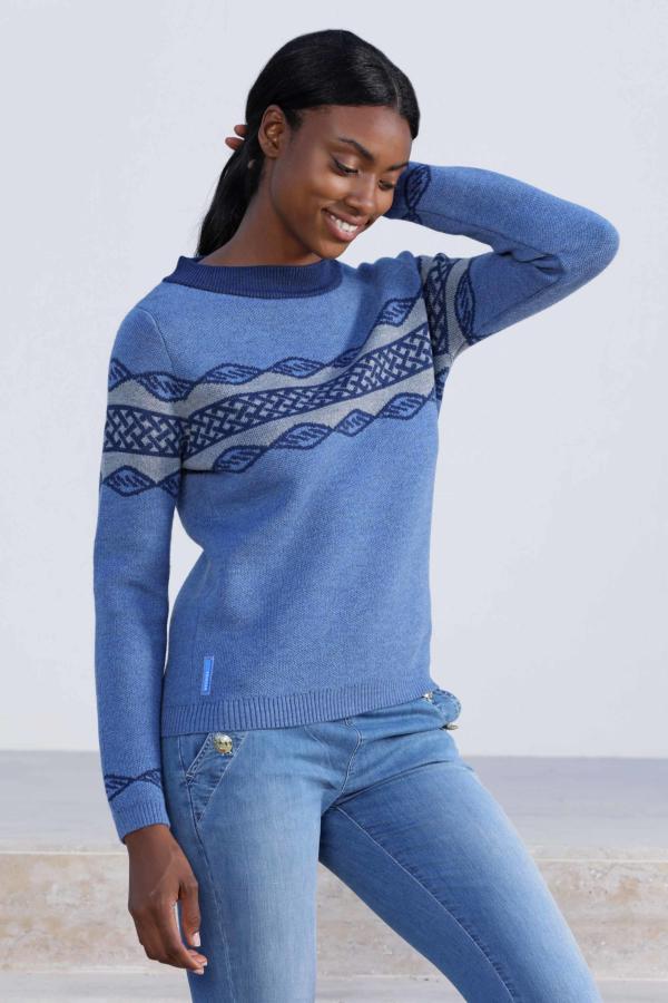 Пуловер жаккардовый ESCALES