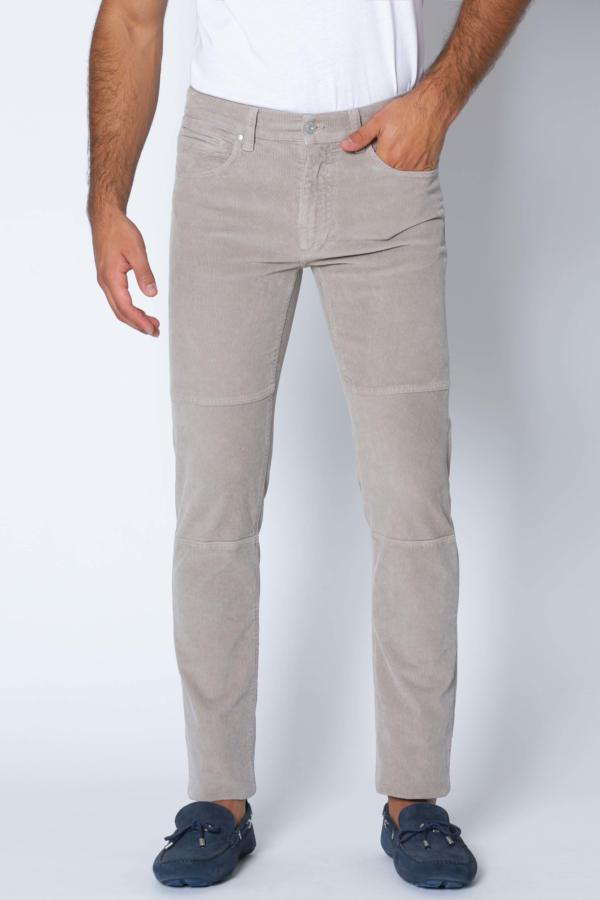 Pantalón Slim-fit Pana