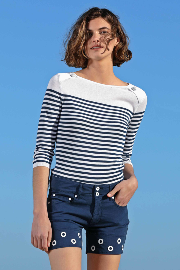 Toscana Striped Sweater
