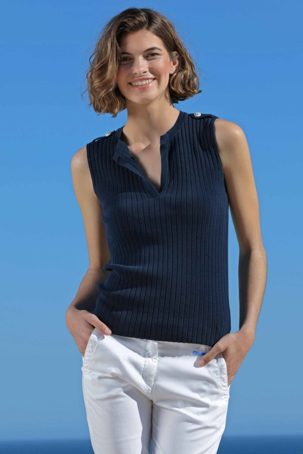 Toscana Sleeveless Sweater