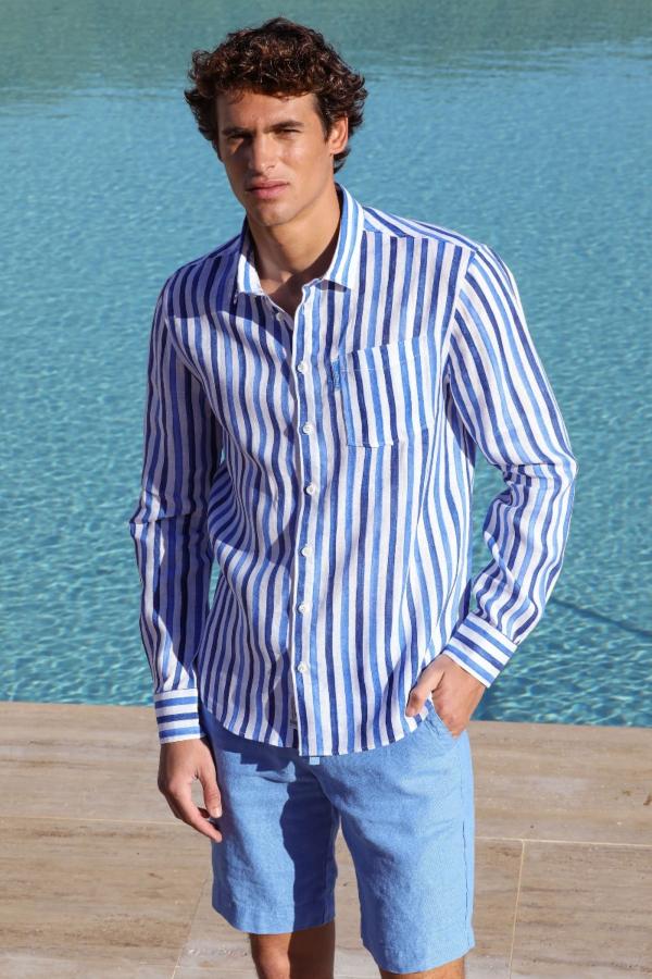 Les Bleus Striped Shirt