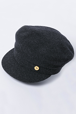 Woolen sailor cap Grey Woman Man