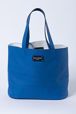 blue leather bag fashion clothing
