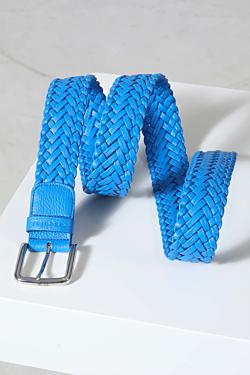 Cinturón Trenzado Hombre - Cinturón de cuero trenzado