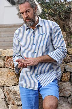 Chemise Lin rayée Formentera