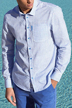 summer checked shirts