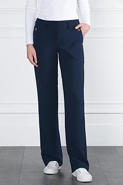 pantaloón azul marino oficina