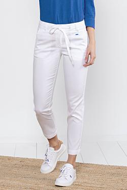 Pantalón Blanco Tobillero de Verano para mujer