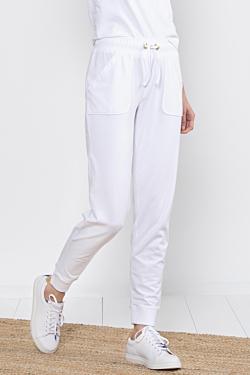 look sport femme blanc élégant