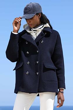 abrigo lana mujer