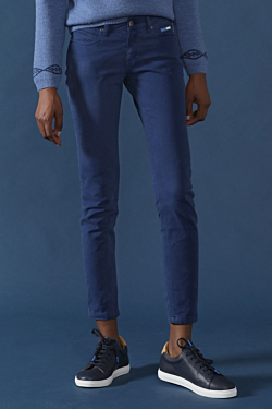 navy blue trousers womens