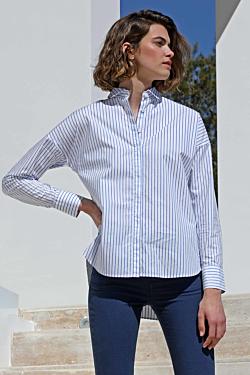 chemise-femme-en-popeline