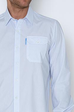 Camisa Popelín a Rayas