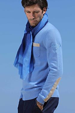 mens silk wool scarf