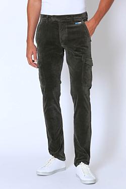 Corduroy Cargo Trousers