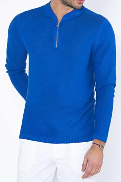 jersey lino azul