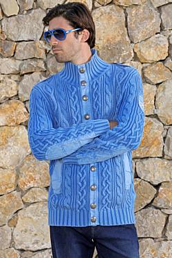 jersey azul cielo de ochos marineros de hombre