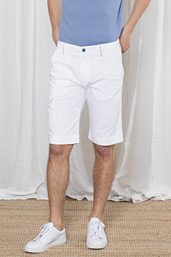 white bermuda for men