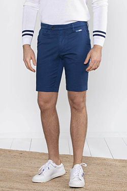 pantalón corto bermuda par ahombre azul marino