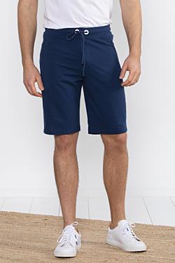 conjunto sport Azul Marino con bermudas de hombre