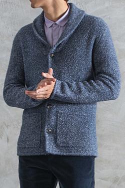Alpaca-Cotton blend jacket