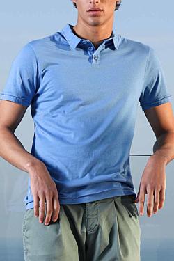 blue polo shirt mens