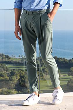 Pantalon à Pinces Tencel
