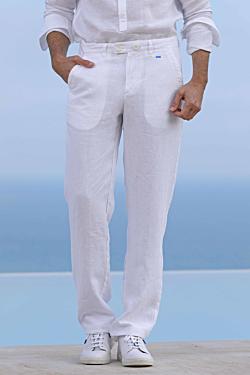 pantaloni-in-lino-bianco