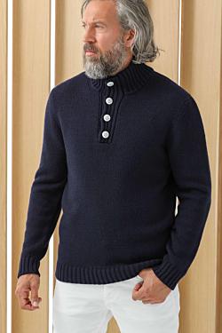 свитер высокий ворот мужской