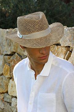 Sombrero Borsalino de paja
