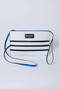 Sailor White and Blue Handbag