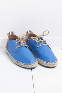 Mens Leather espadrilles
