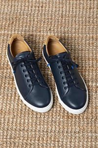 leather sneakers men