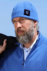 blue Cashmere beanie
