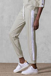 pantalon sport beige femme
