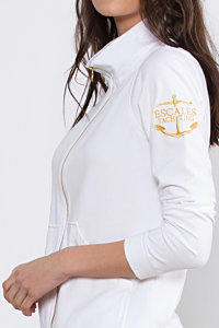 ESCALES white sport look for woman