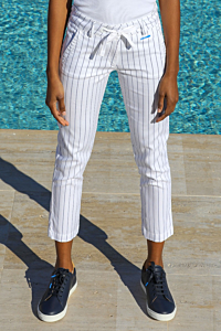 elegant striped trousers