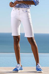 Bermuda di jeans bianchi
