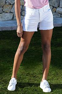 Shorts mit 5 Taschen Vichy
