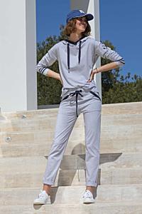 pantalón sport gris