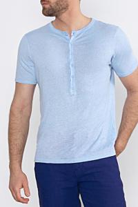 light blue linen shirt for men