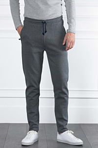 sport trousers Grey and navy blue Man