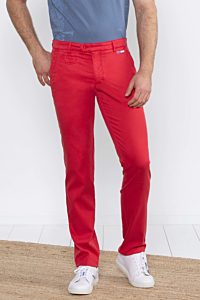 red mens chino pants