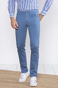grey blue slim men's trousers