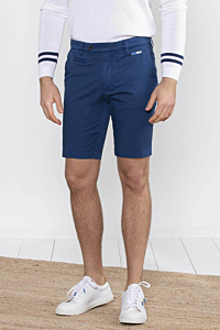 Bermuda bleu Marine shorts chino pour Homme