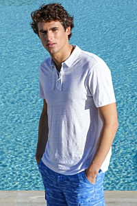 Corsaire Linen Polo Shirt